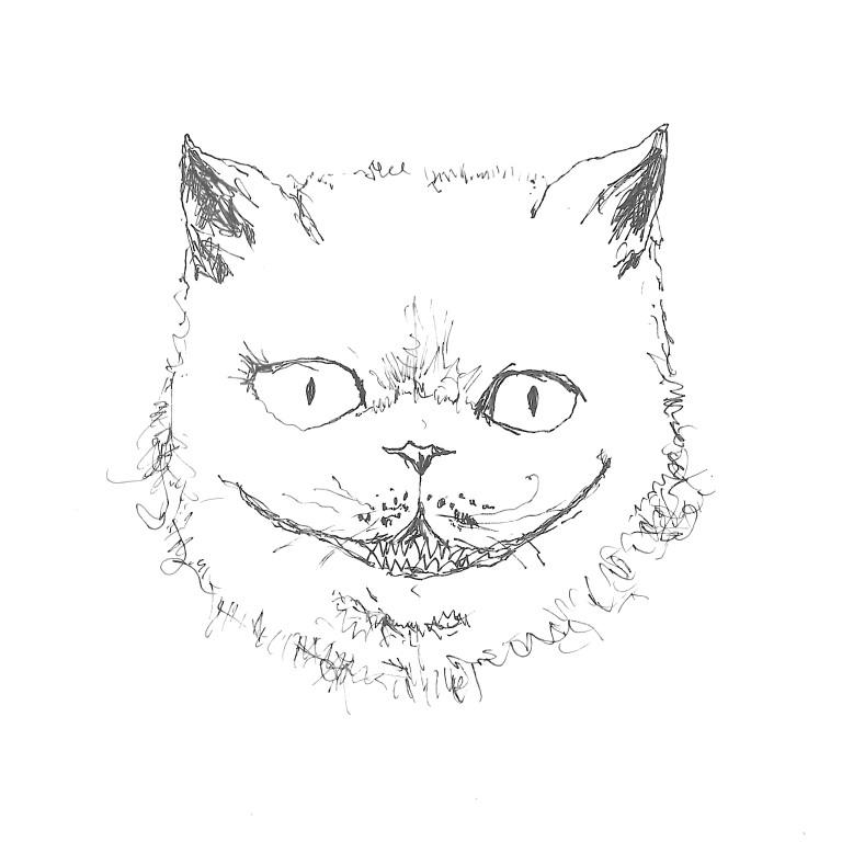 Cheshire Cat says hi