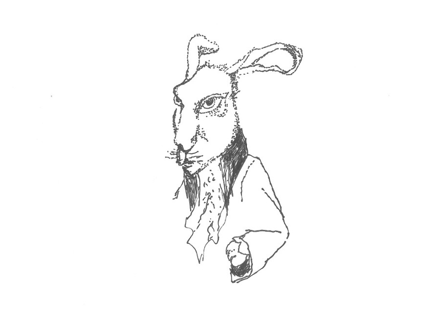 portrait of March Hare